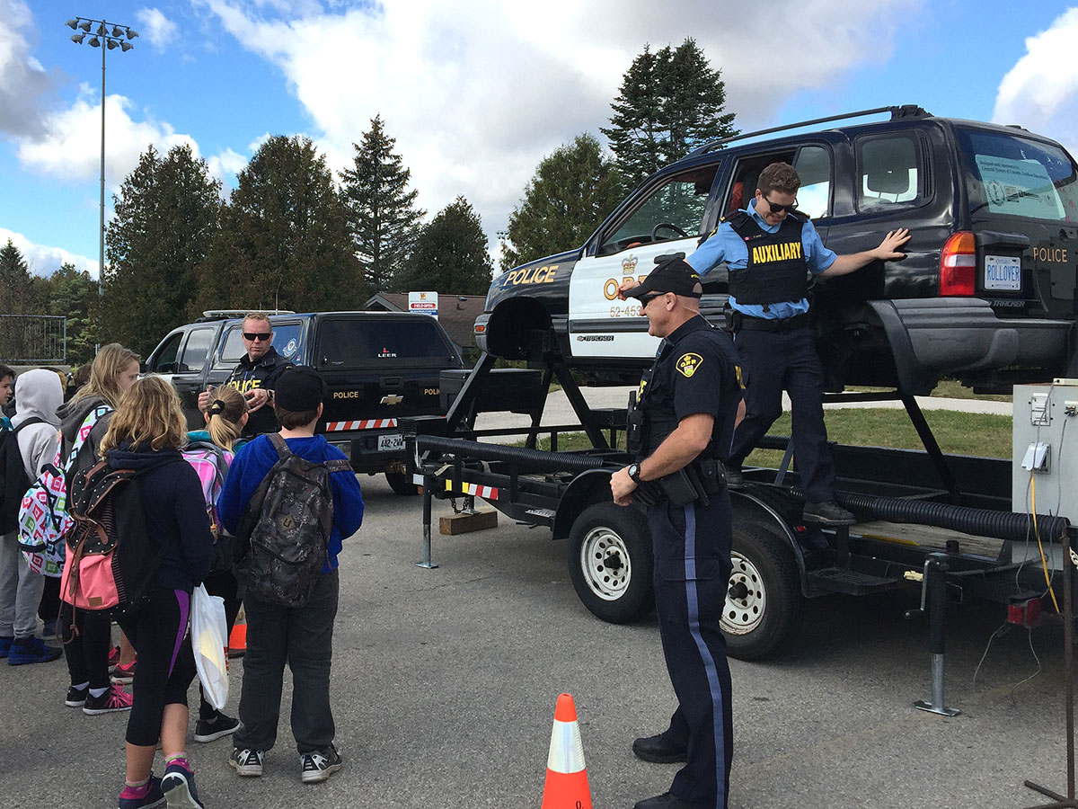 On Oct. 5, 2017, grade 6 students from Wellington County schools attended Safe Communities Day.