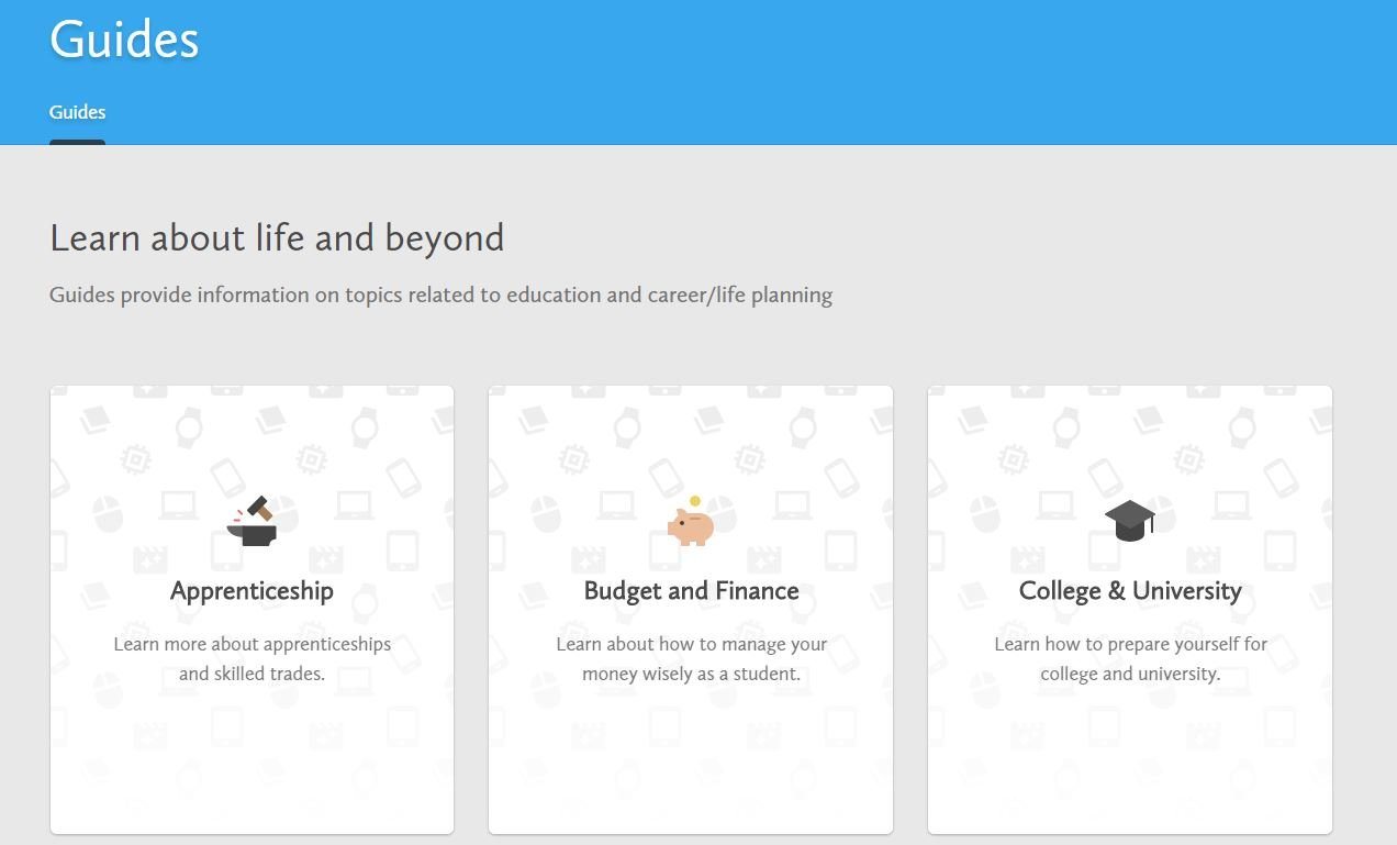 Student pathway planning tool now available to ugdsb parents myblueprint 3 malvernweather Images