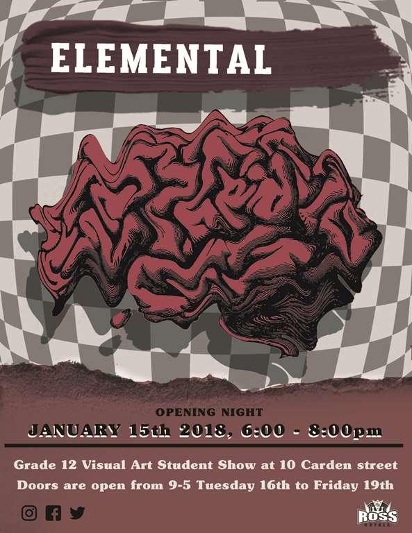 Elemental Art Show Poster (1)