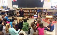 Caitlin And Isaac Classroom Visit Spotlight Image