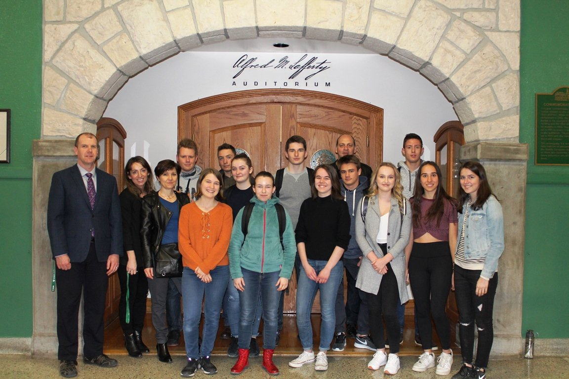 Students from France visit GCVI