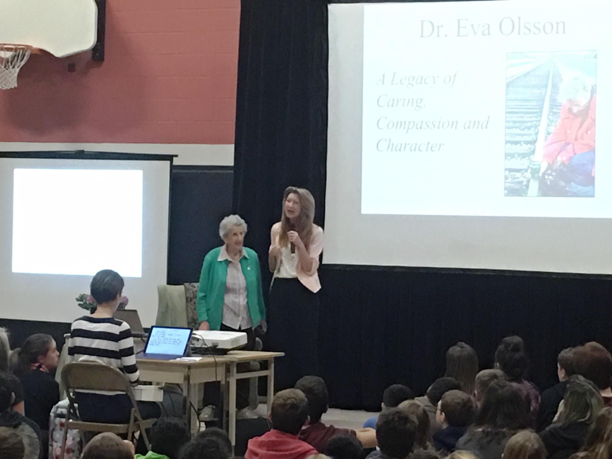 CMES Eva Olsson Visit 2018 4