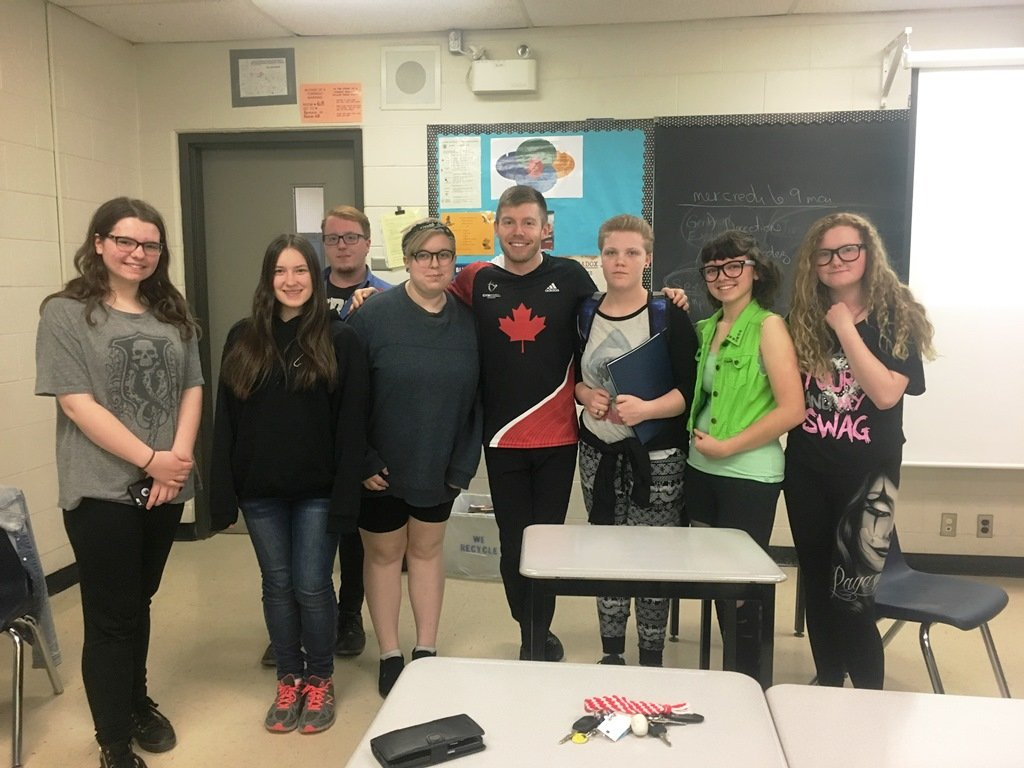 Denis Vachon Visit To CDDHS