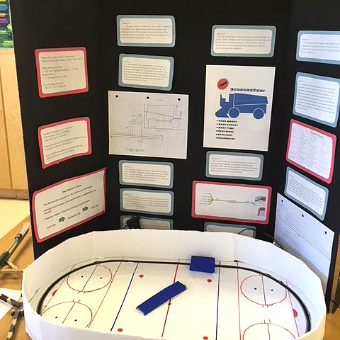Students at Aberfoyle PS conducted inquiry-based Passion Projects, May 2018.