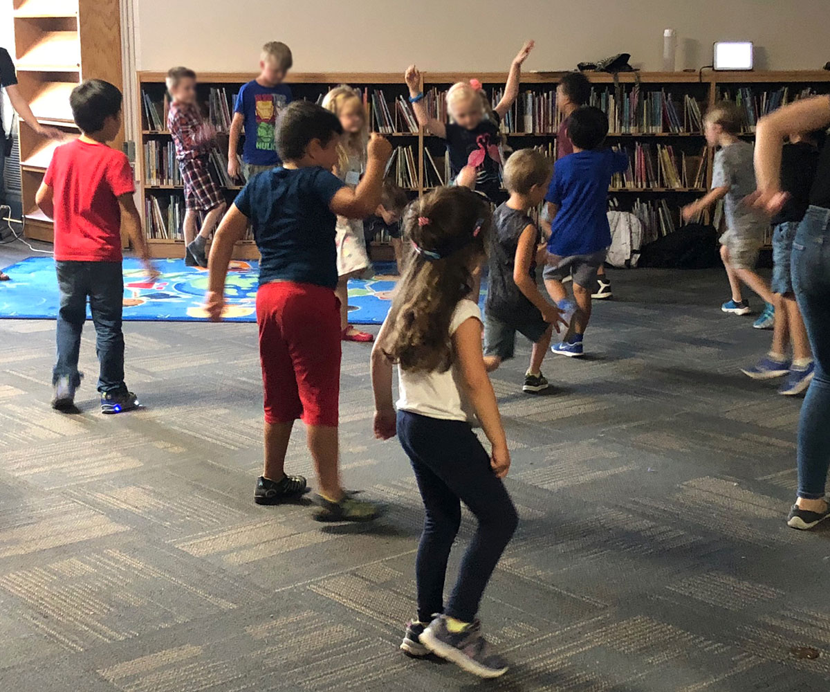 From July 4-24, 2018, young students in Guelph and Shelburne attend the UGDSB's Camp Lift Off.