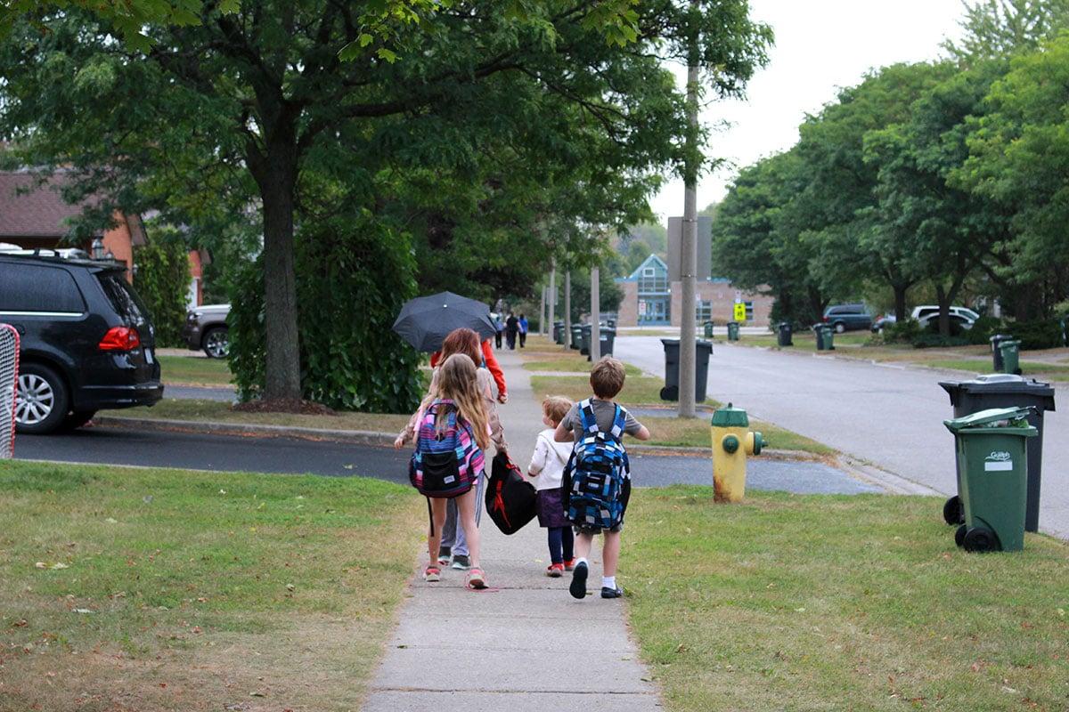 UGDSB Walk To School Day 2017