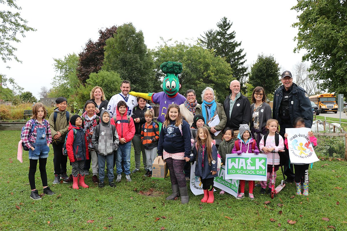 Walk To School 2018 Brant Ave PS Oct 2018