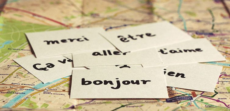 French Language Map Big Promo