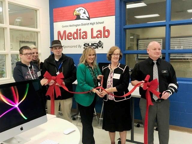 Media Lab Grand Opening CWDHS