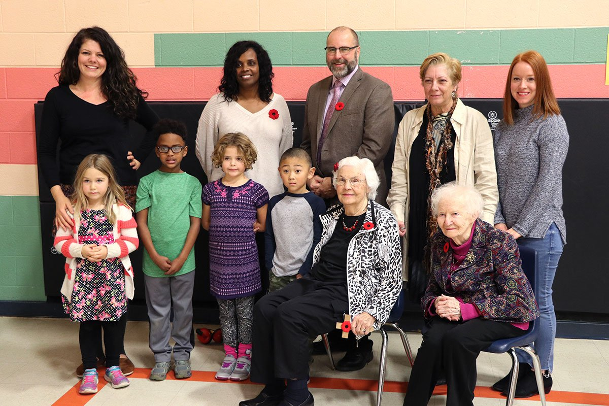 On Nov. 8, 2018, former and current staff and students at Paisley Road PS opened a time capsule from 1993.