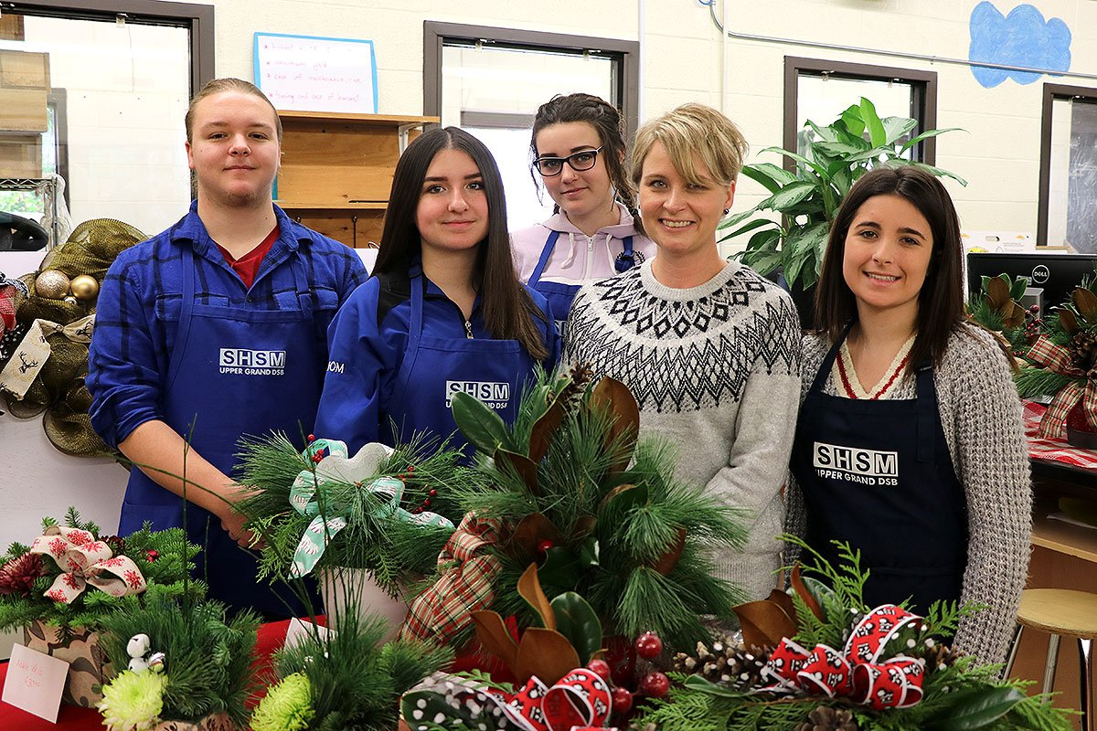 In the week leading up to the holiday break, December 2018, College Heights hosted a number of festive sales and events.