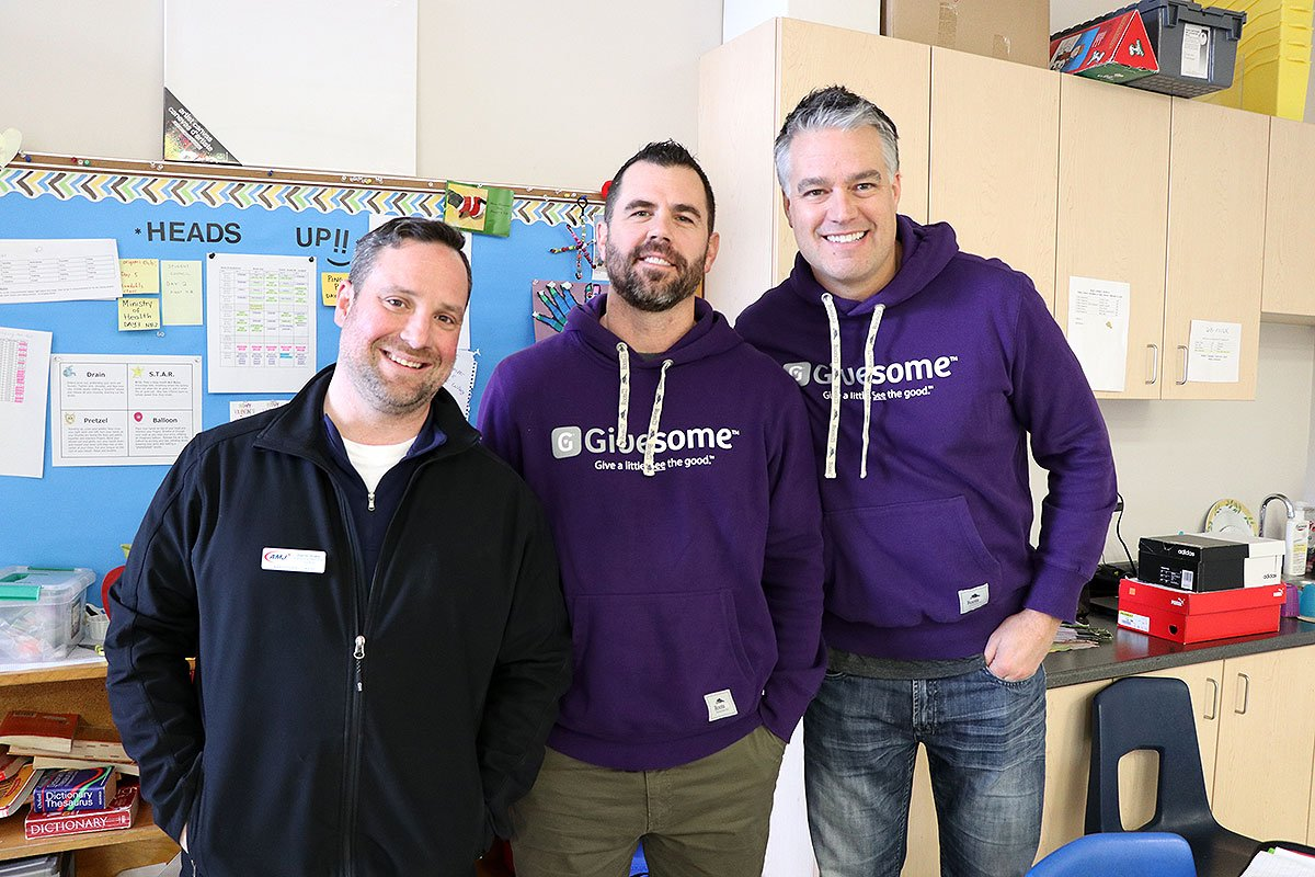 On February 5, 2019, Brant Avenue students in grades 4 to 6 learned about generosity through a partnership with Givesome, a Guelph-based non-profit organization.