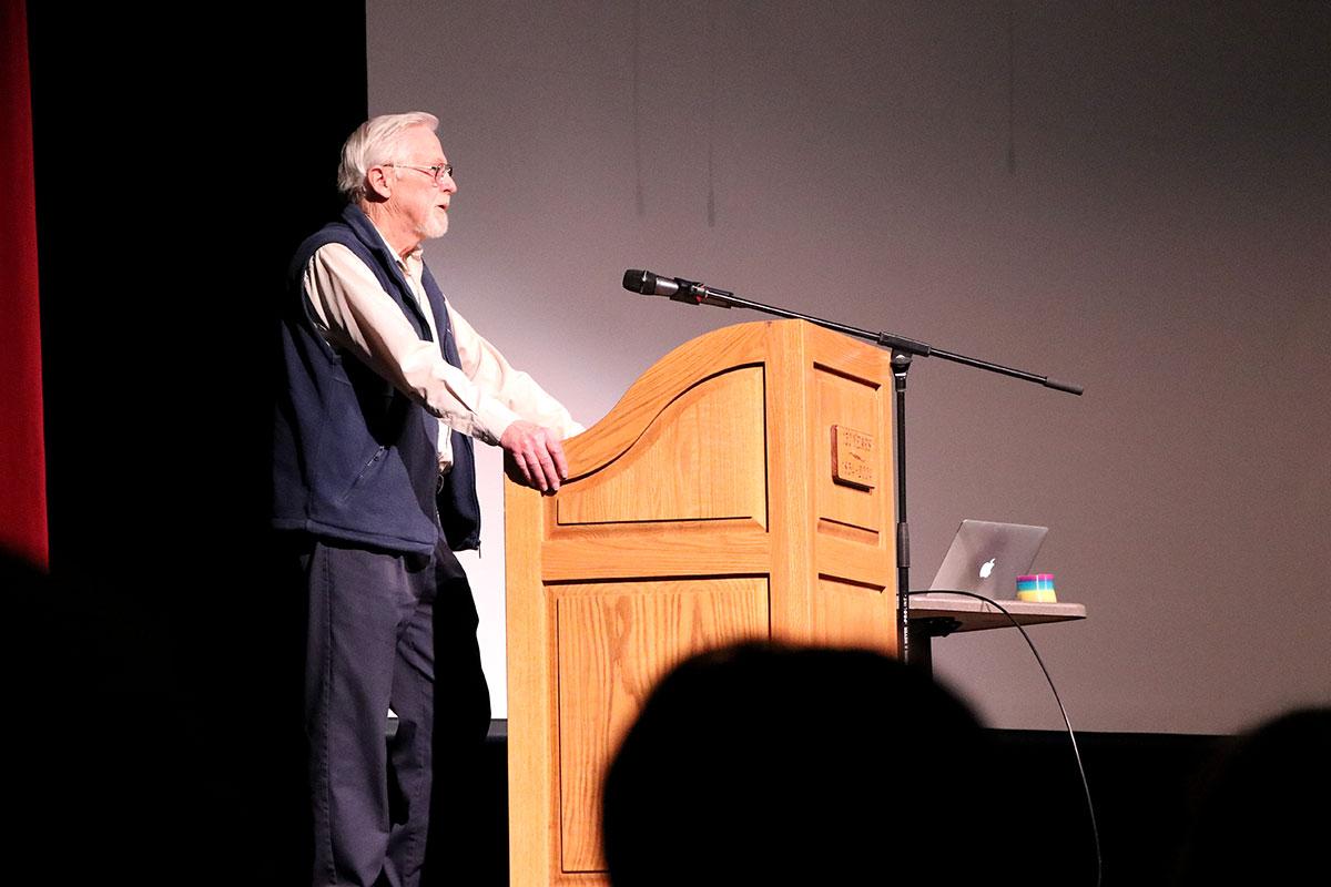 On Friday Feb. 15, Nobel Prize winner Donna Strickland visited Guelph CVI to speak to students.