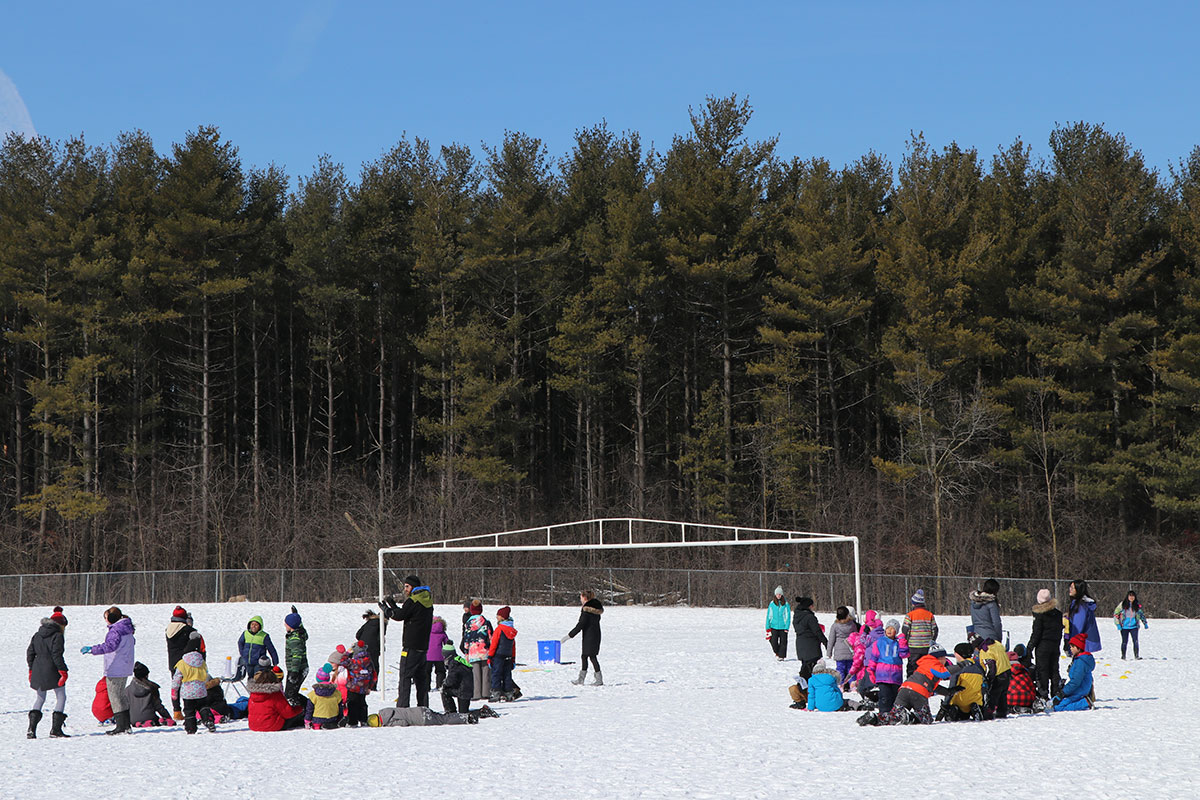 On Friday March 8, 2019, staff and students at Taylor Evans PS participated in the Winter Festival Games.