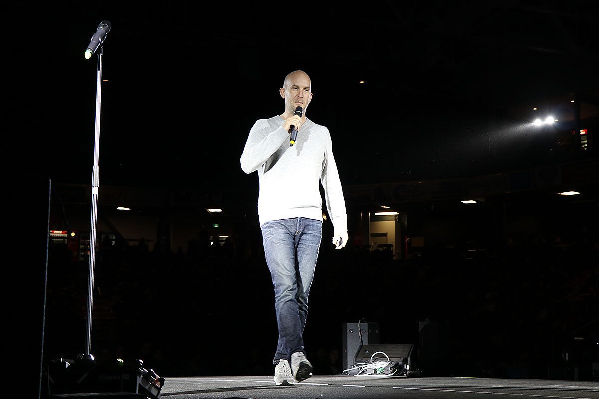 Leon Logothetis at Empowerment Day 2019, May 2, 2019.