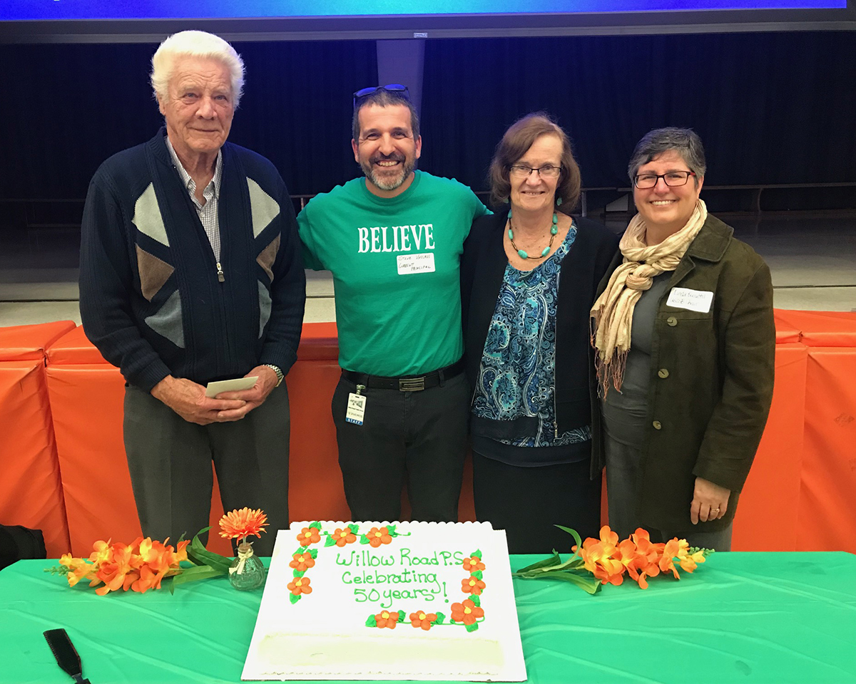 On May 9, 2019, Willow Road PS celebrated its 50th anniversary.