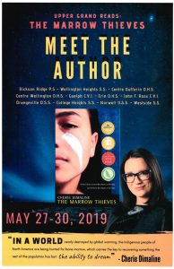 The 2019 UG Reads book is The Marrow Thieves by Cherie Dimaline.