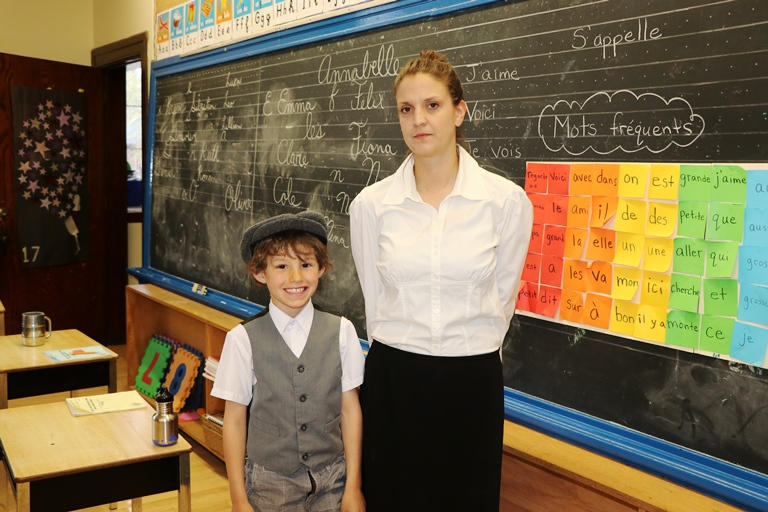 Students and staff celebrated the rich school history by conducting the day as it would have been 100 years ago.