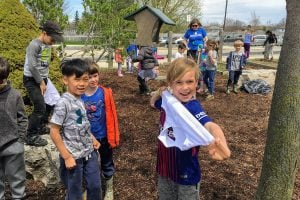 On May 7, 2019, students at FA Hamilton PS participated in the Soil Your Undies program.
