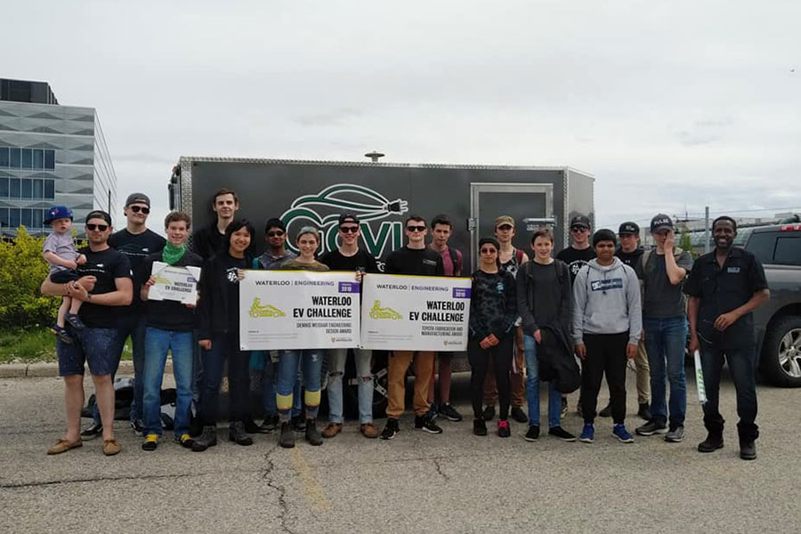 On Saturday May 25, 2019, GCVI SHSM students competed at the Waterloo Electric Vehicle Challenge.