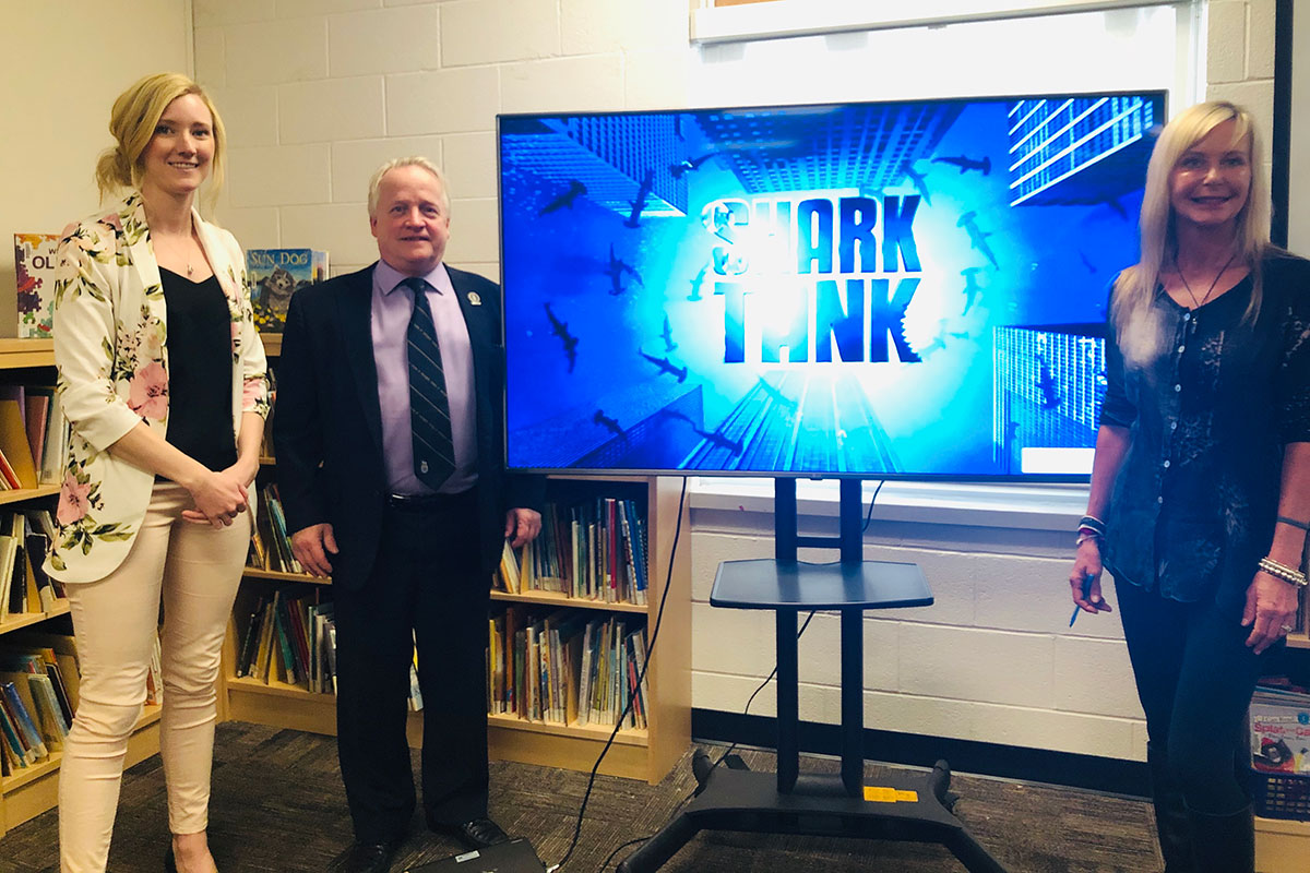 Students at Rockwood Centennial Public School have proven themselves to be promising young entrepreneurs, following a project that had them start and pitch their own small businesses.