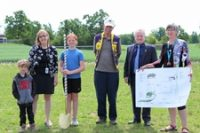 Harris Mill PS breaks ground on new play structure