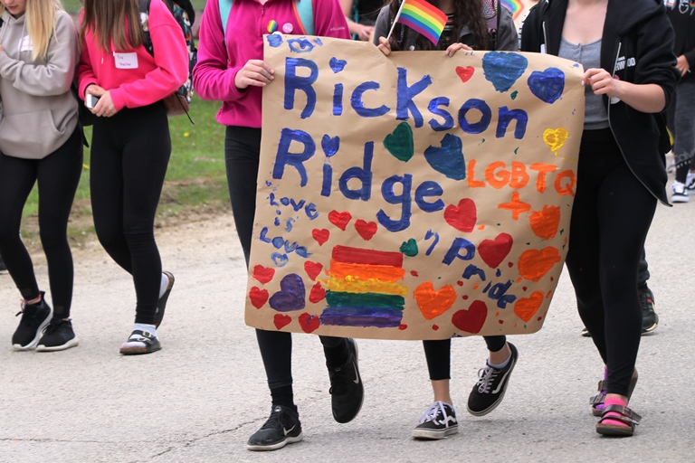 UGDSB students in grades 5-12 spent the day celebrating and learning at the Rainbow Leadership Summit on June 4.