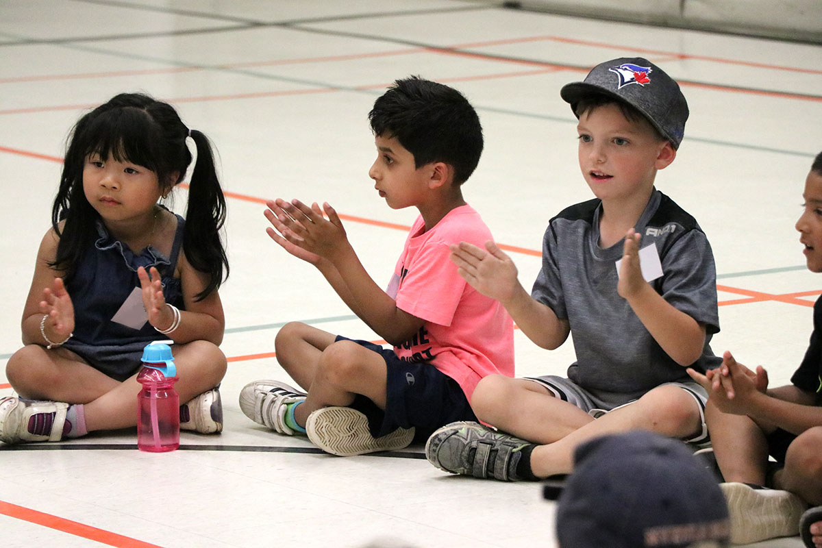 Students participate in Camp Lift Off, which ran from July 3 to 23, 2019, at Taylor Evans Public School in Guelph and Centennial Hylands Elementary School in Shelburne.