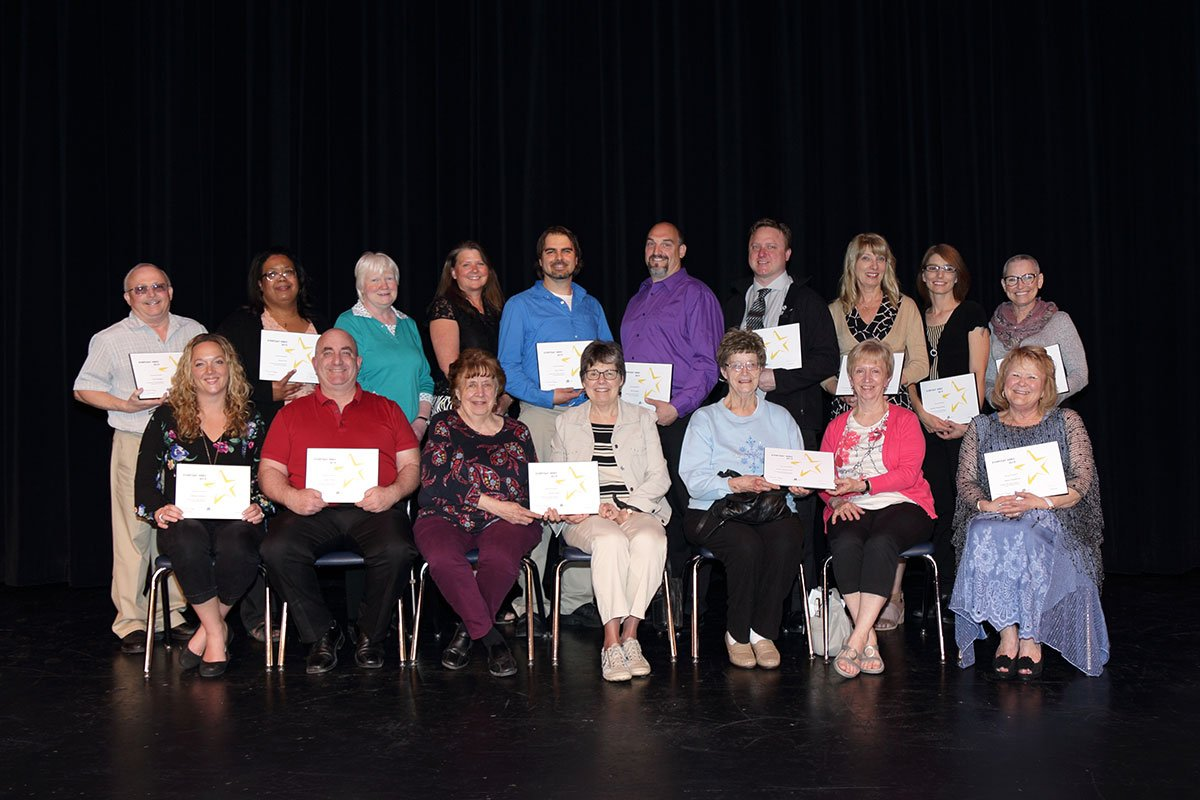 Winners of the 2018-19 Everyday Hero Awards.