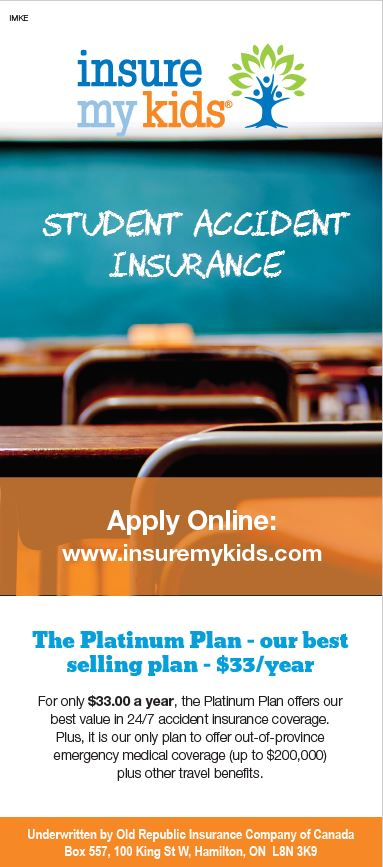 Student Accident Insurance banner