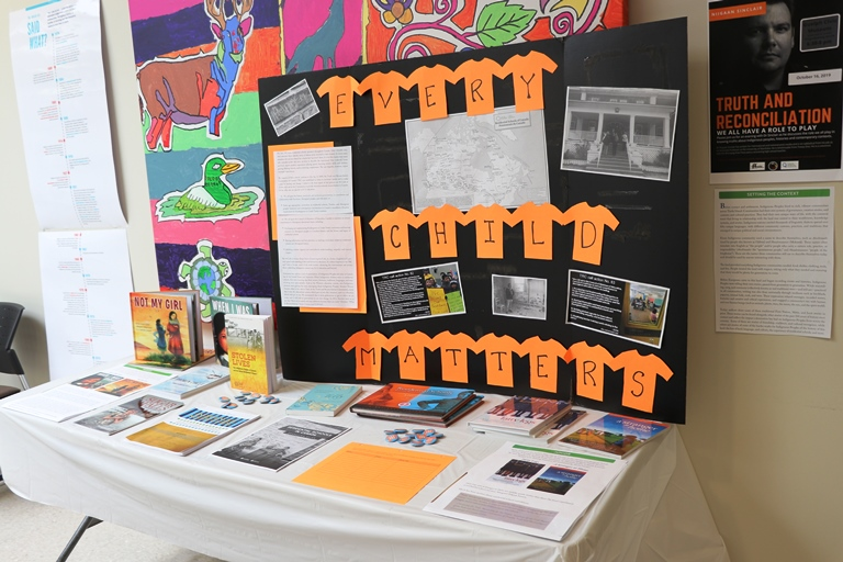 Upper Grand District School Board students and staff come together year-round to discuss the importance of reconciliation, and as part of these ongoing discussions, on September 30 the UGDSB recognized Orange Shirt Day.