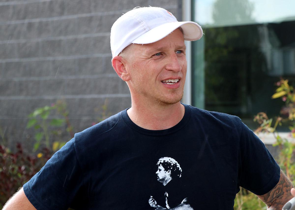 Teacher Brandon Rees is pictured on Sept. 26, 2019.