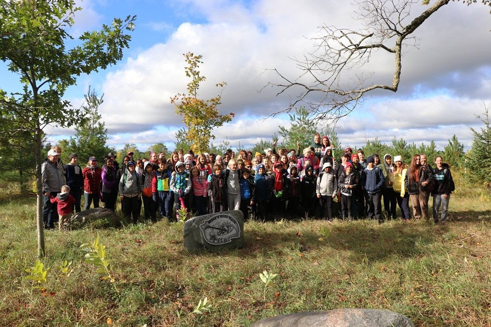 UGDSB students plant 1,500 trees to help local water supply