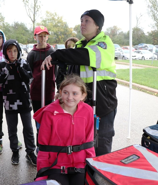 On October 3, over 400 Upper Grand District School Board students learned about good safety habits at the 2019 Safe Communities event.