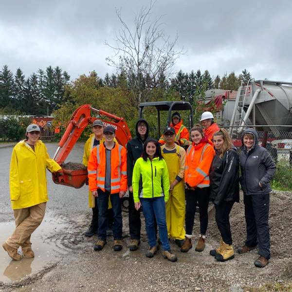 On October 1 and 2, 2019, nine College Heights Secondary School SHSM students took part in Skid Steer & Excavator certification training through Pro-Buy Safety Solutions in Guelph.