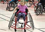 Alma PS Wheelchair Basketball Spotlight