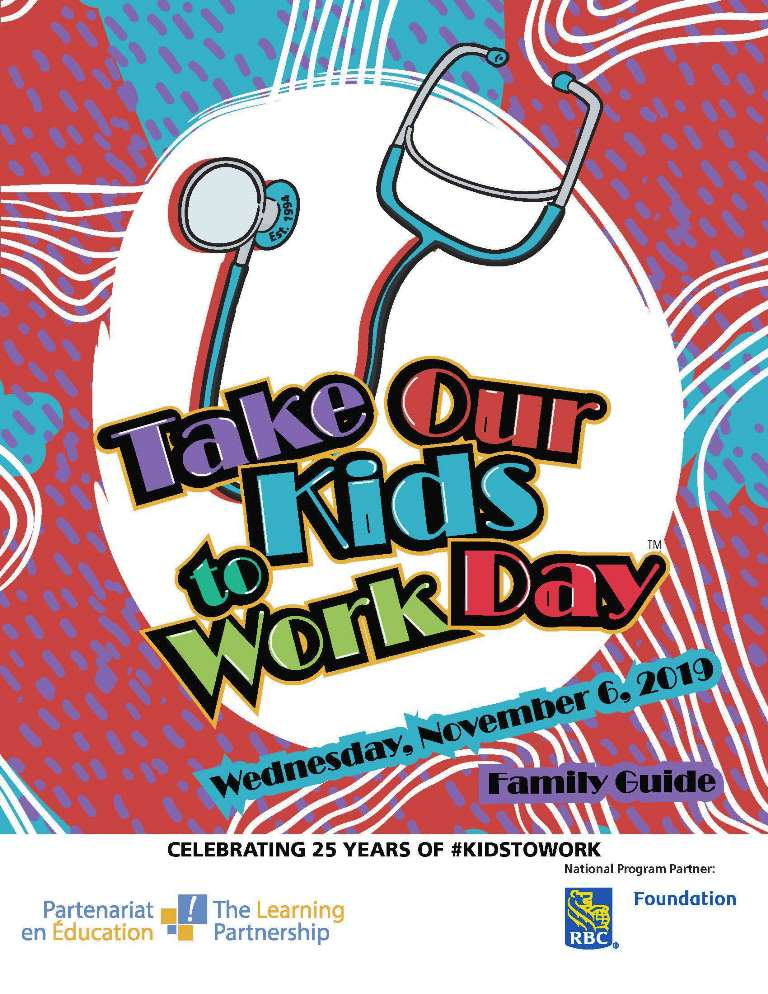 Take Our Kids to Work Day turns 25 on November 6