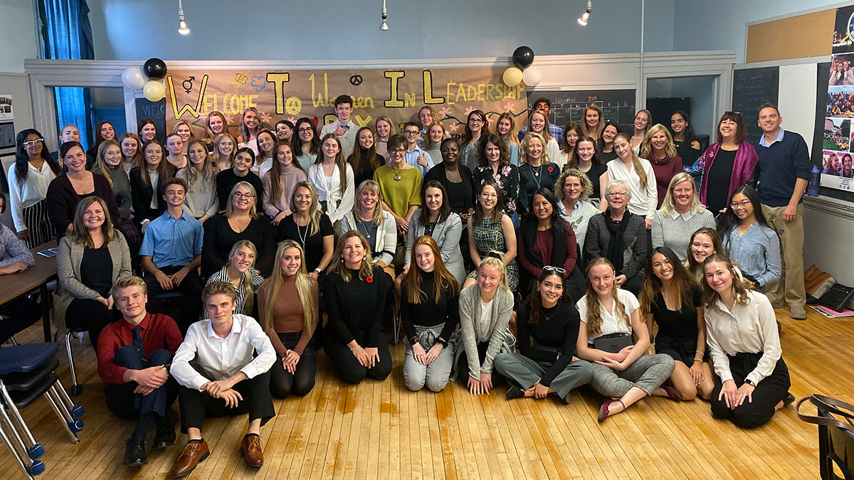 On November 5, 2019, UGDSB's Beyond Borders program and the Business Centre of Guelph-Wellington partnered to host the annual Women in Leadership Day at the experiential learning program's new home at Tytler Public School.
