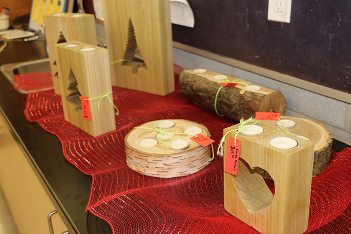 Students and staff at College Heights Secondary School have been hard at work preparing for their annual Holiday Boutique.