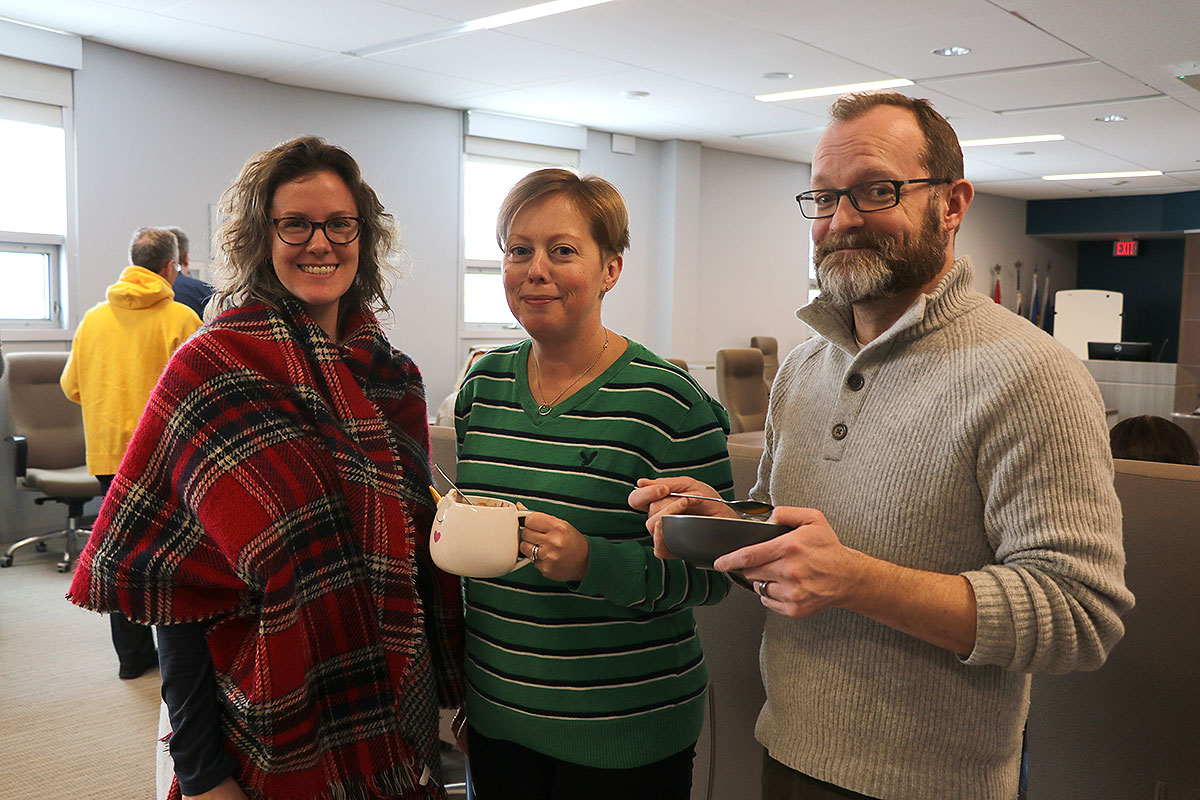 UGDSB turns down the heat for National Sweater Day
