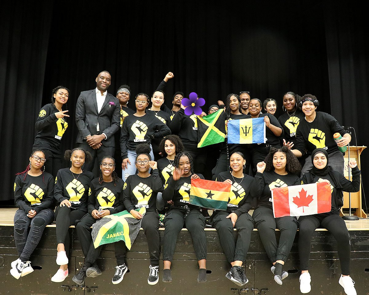 CDDHS hosts 2nd annual Black History assembly