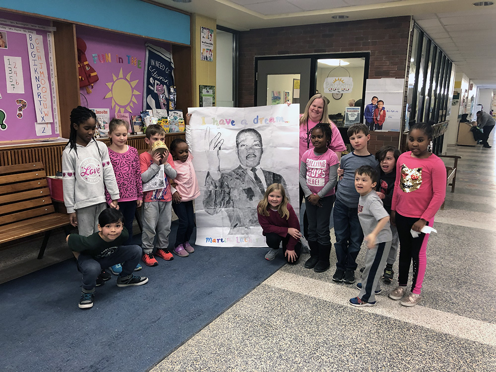 Students at Centennial Hylands Elementary School have continued theirlearning about Black History.