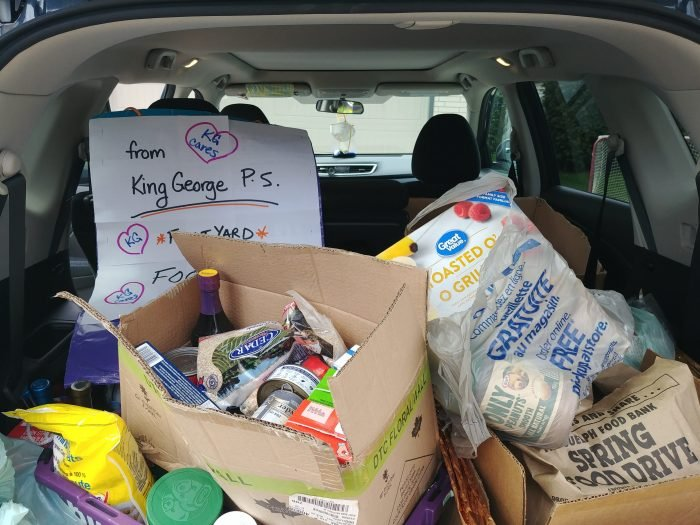 King George PS virtual Food Drive_2