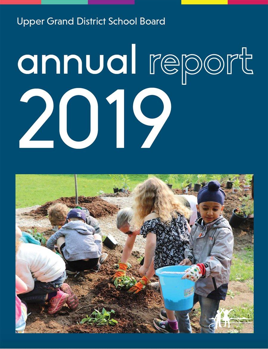 2019 Annual Report Cover Picture