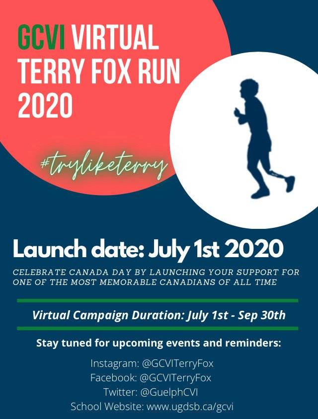 GCVI Terry Fox Campaign Image