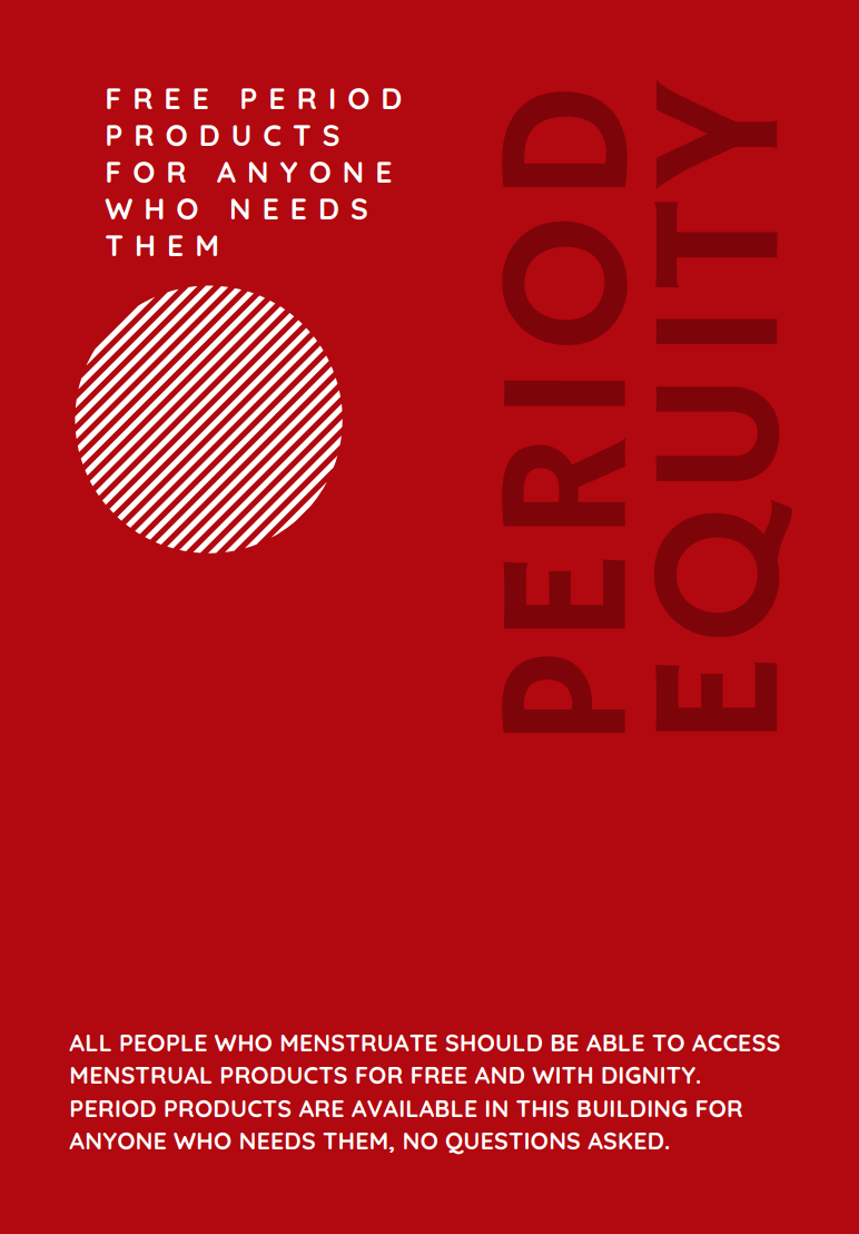Period Equity Poster PNG file