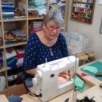 Anne Sewing Facemasks
