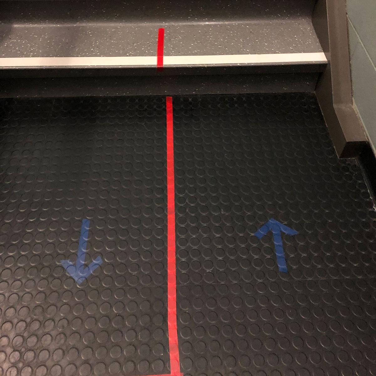 Floor Marker Stairs 2