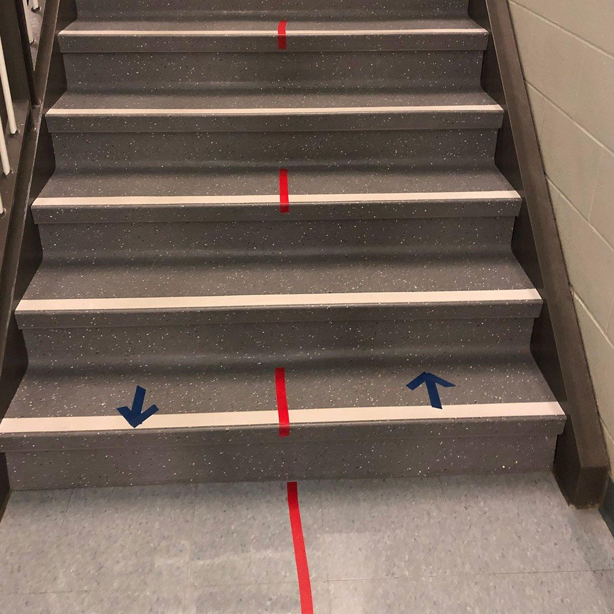 Floor Marker Stairs