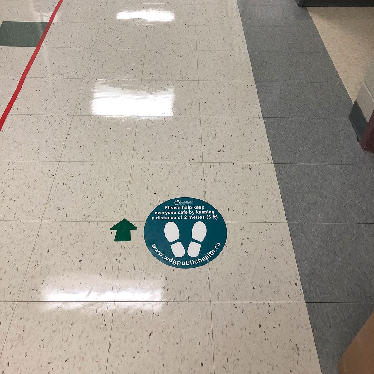 Floor Marker